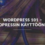 WordPressin käyttöönotto