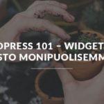WordPress widgetit